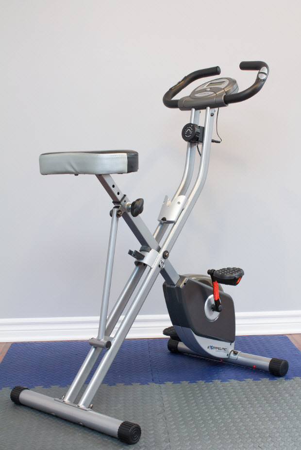 Exercise bike from right side