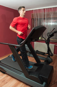 HIIT treadmill workout for weight loss