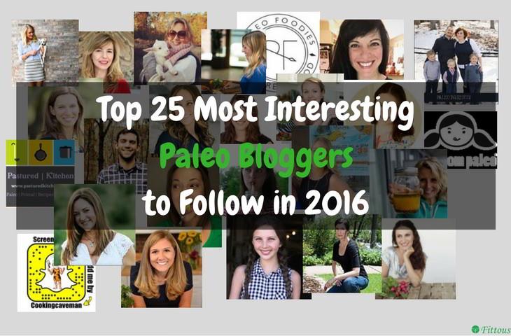 Top 25 Paleo Bloggers 2016