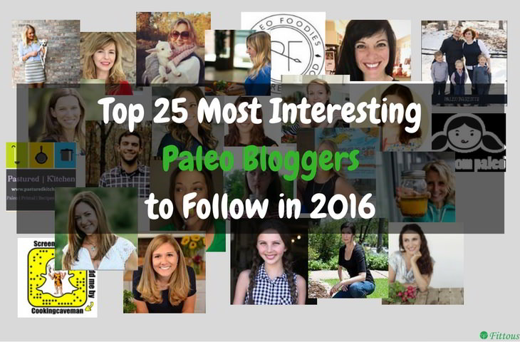 Top 25 Paleo Bloggers 2016