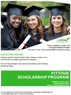 Fittous scholarship overview