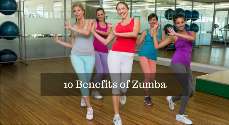 10 Benefits of Zumba for Health and Weight Loss