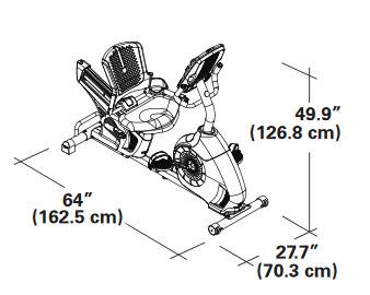Schwinn 270 dimensions