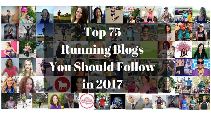 Top 75 Running Blogs You Should Follow in 2017