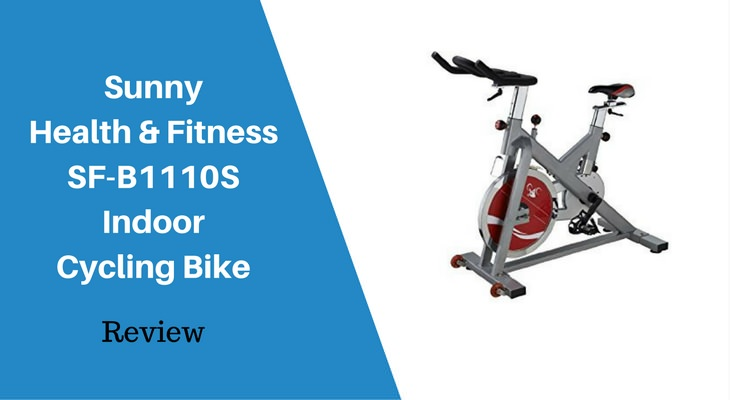Sunny Health Fitness SF-B1110S Indoor Cycling Bike