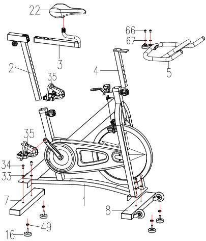 SF-B901 Pro Assembly
