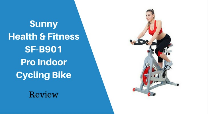 Sunny Health and Fitness SF-B901 Pro Indoor Cycling Bike