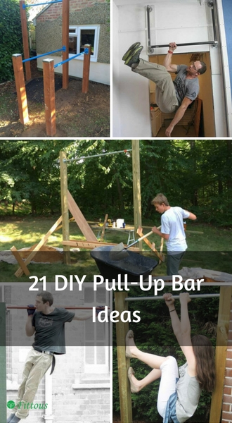 21 DIY Pull-Up Bar Ideas