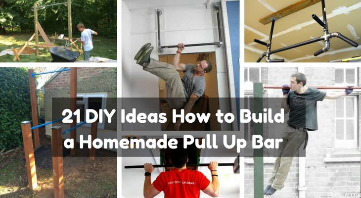 21 diy pull up bar ideas to help you get ripped